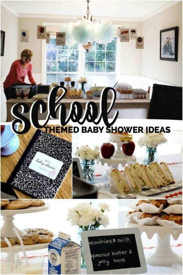 School Themed Baby Shower