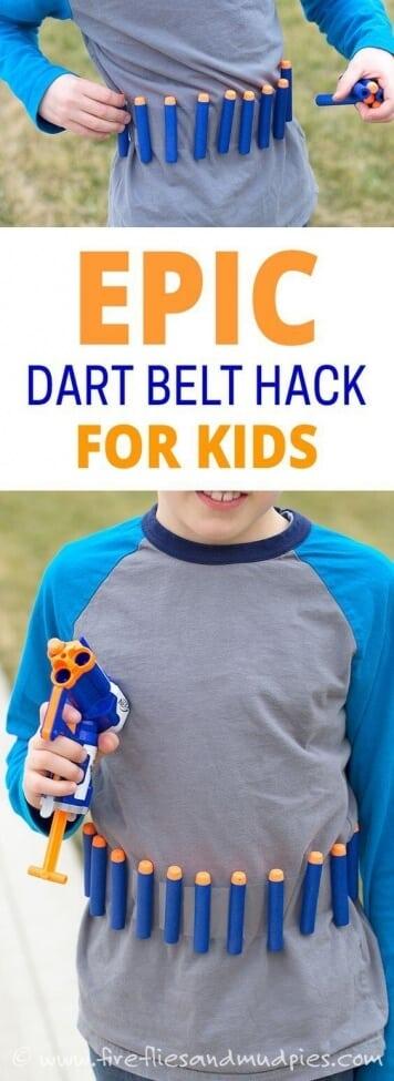DIY Dart Belt
