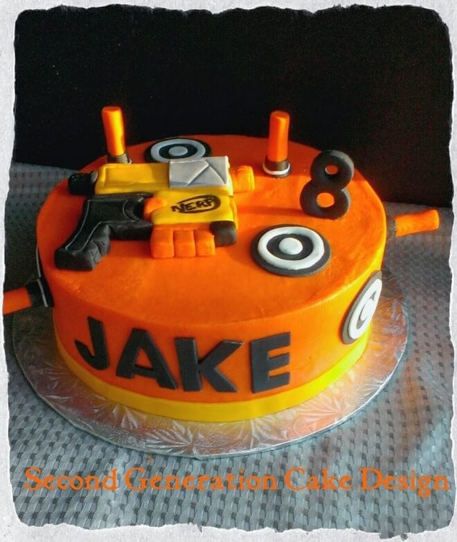 Sensational 19 Incredible Nerf Birthday Party Ideas Spaceships And Laser Beams Funny Birthday Cards Online Alyptdamsfinfo