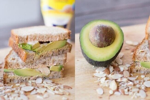 Avocado Sandwich with a Creamy Kick