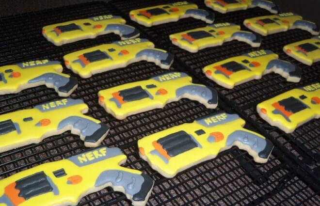 Nerf Cookies