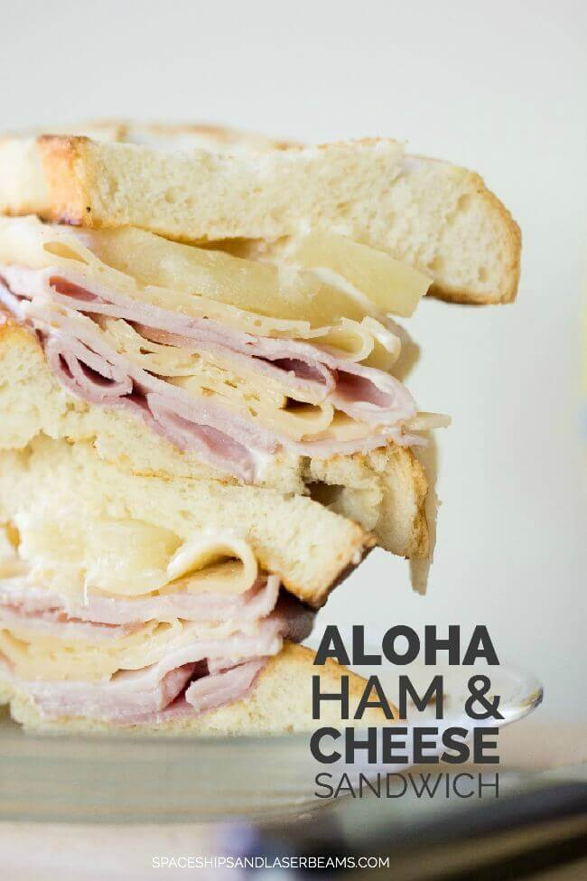 Aloha Hawaiian Ham & Cheese Sandwich Recipe