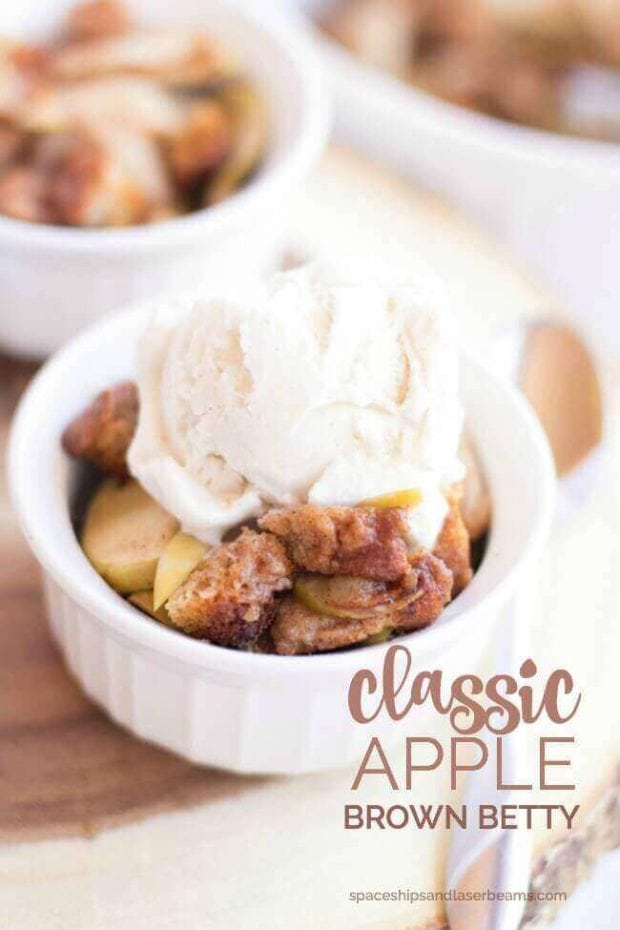 Classic Apple Brown Betty