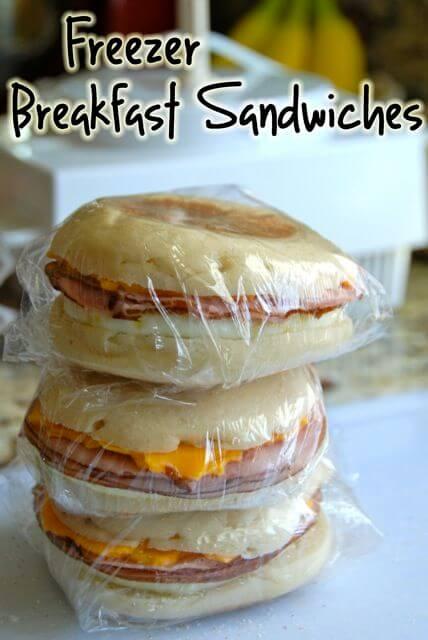 Make Ahead Freezer Sandwiches