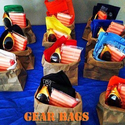 Nerf Party Gear Bags