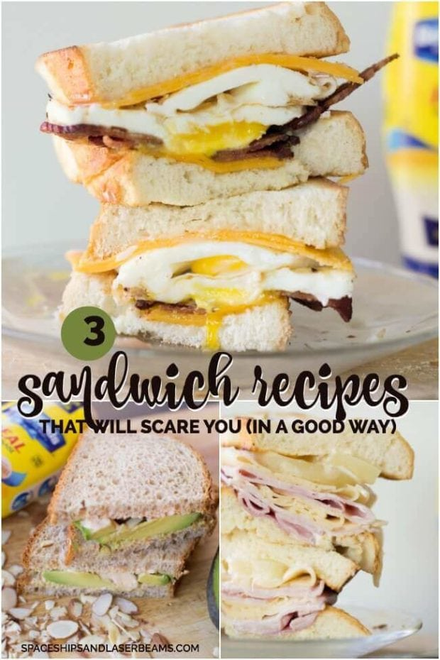 3 Sandwich Recipes That Will Scare You -- in a Good Way!