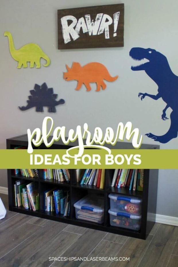 Gorgeous Playroom Ideas for Boys