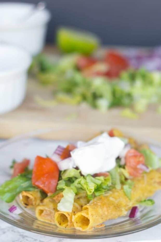 Taquita Enchiladas