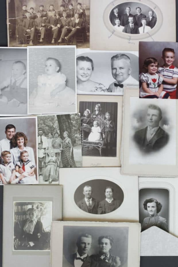 Historic Family Photo Organization