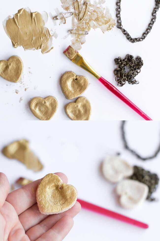 How to Make Salt Dough Necklaces