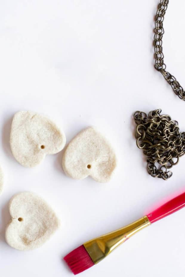 Easy Keepsake Fingerprint Necklaces