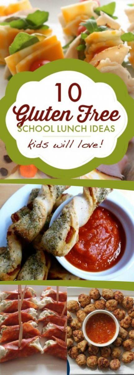Gluten Free School Lunches