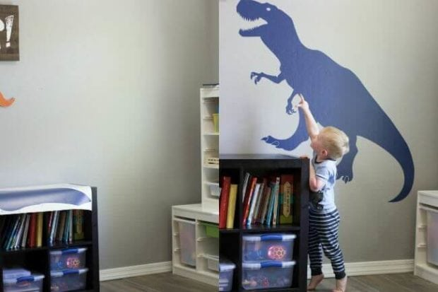 Playroom Before and After