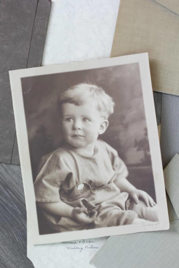 How to Store Old Photos