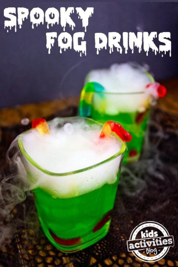 25 spooky halloween drinks for kids spaceships and laser for Best mixed drinks for parties