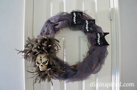 Eerie DIY Halloween Wreath