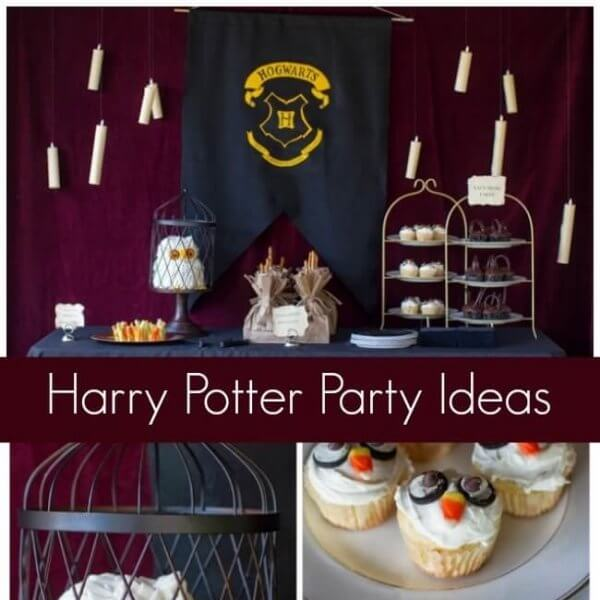 30 Magical Harry Potter Party Ideas Spaceships And Laser