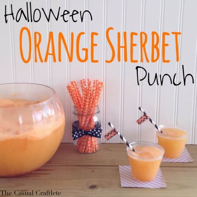 Halloween Orange Punch