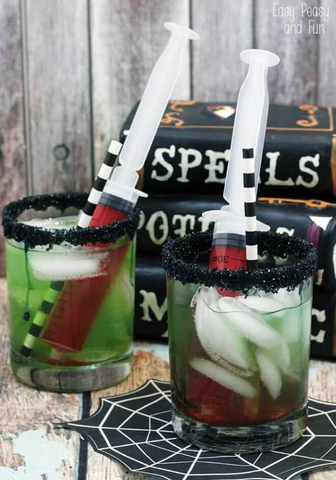 Creepy Cool Halloween Drinks