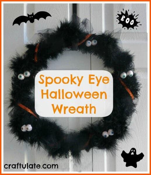 Spooky Eye Halloween Wreath
