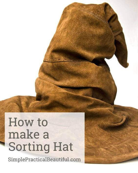 How To Make The Sorting Hat Cake