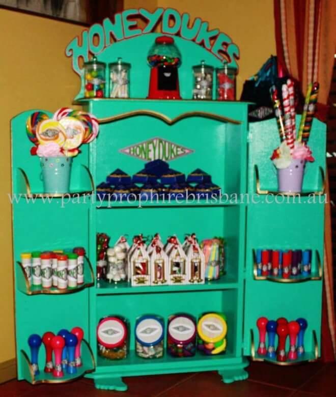 Honeydukes Candy Display