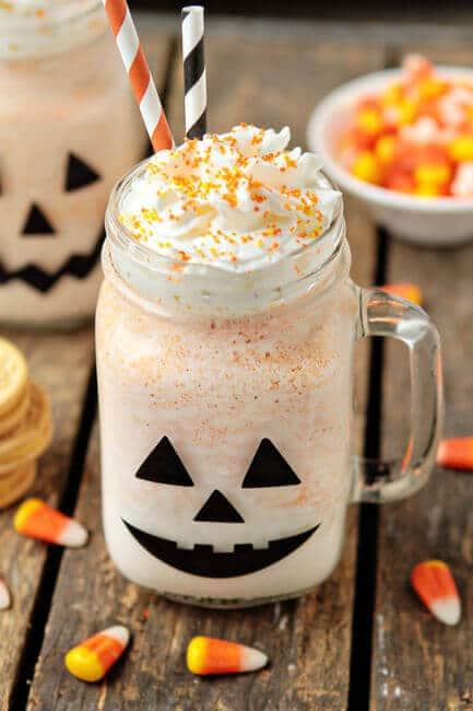 Halloween Oreo Milkshake