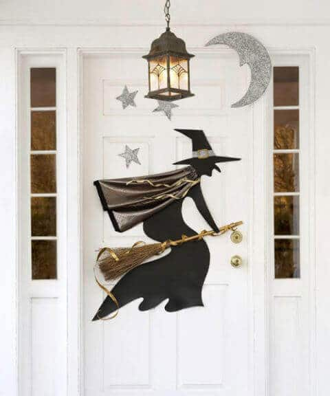 Witch Halloween Door Decorations