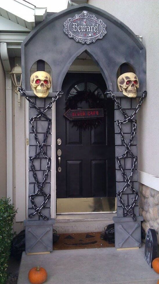 halloween arch halloween door decorations