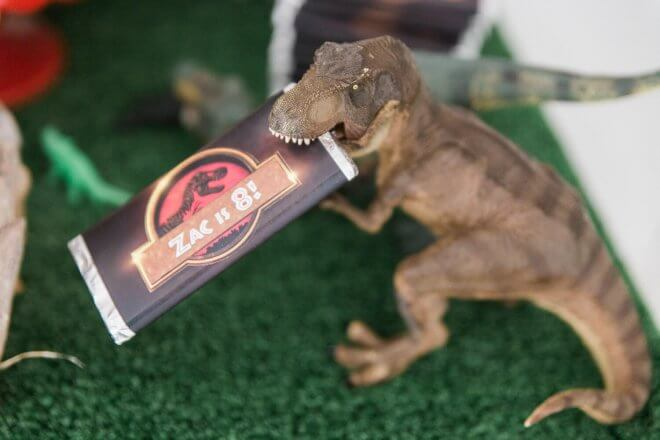 A Jurassic Park Inspired Boy S Dinosaur Birthday Party