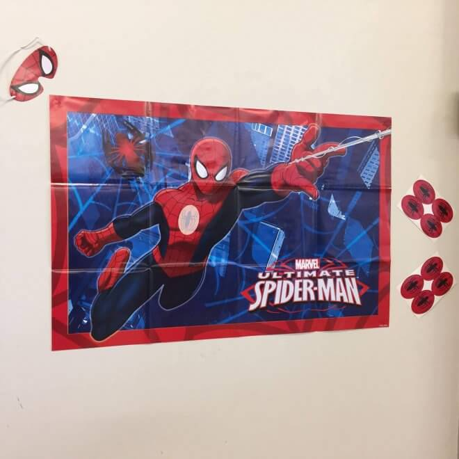 Boys Spiderman Party Game
