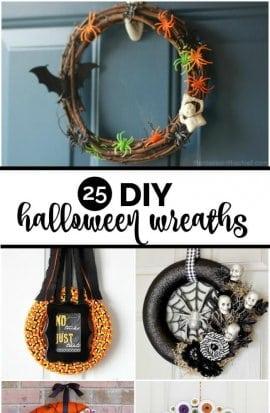 25 DIY Halloween Wreaths
