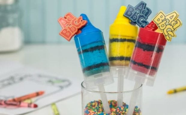 19 Creative Crayola Crayon Party Ideas Spaceships And