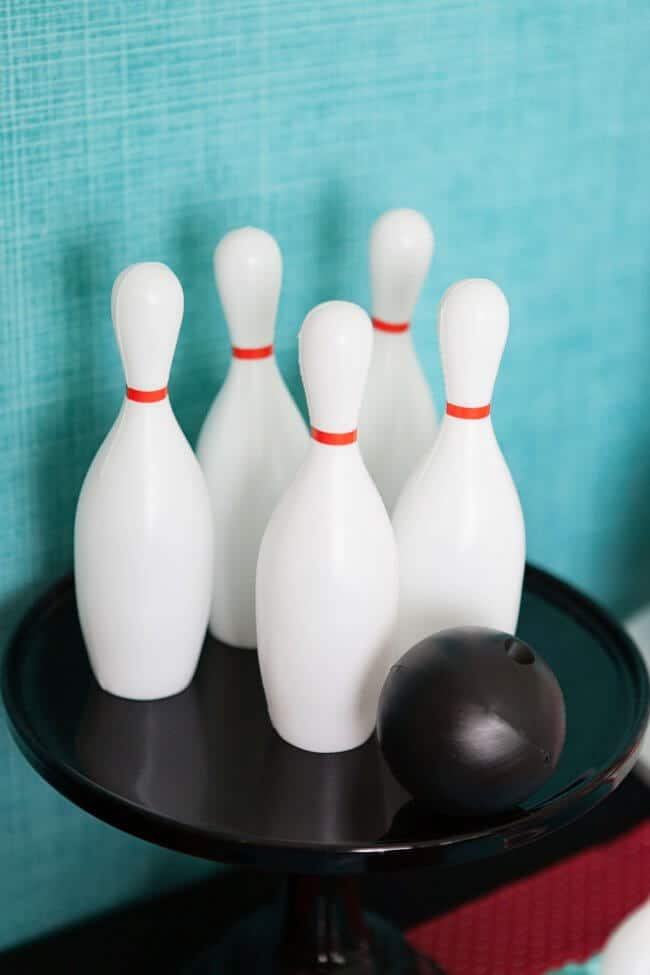Boys Bowling Themed Birthday Party Game Decorations