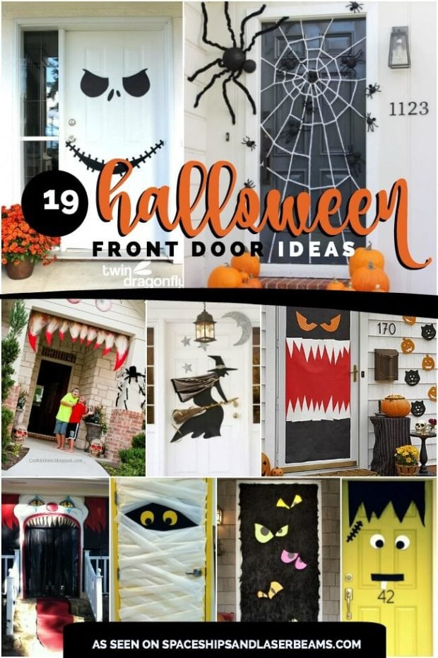 19 Halloween Door Decorating Ideas That Are Hauntingly