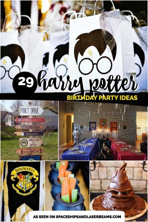 The Spaceships And Laser Beams Team Loves These Creative Harry Potter Party Ideas