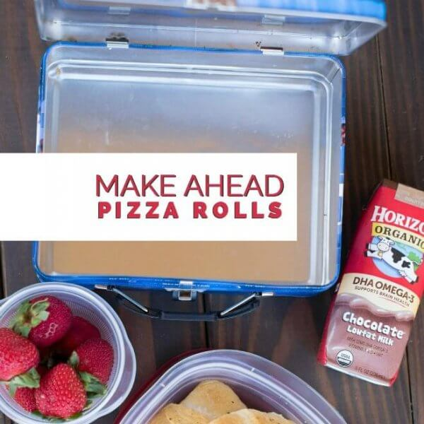 Kids' Lunch Ideas: Make Ahead Pizza Rolls | Spaceships and ...