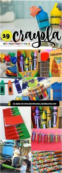 Crayola Crayon Birthday Party Ideas