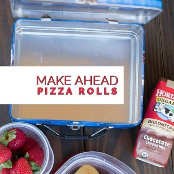 Kids' Lunch Ideas: Make Ahead Pizza Rolls   Spaceships and Laser ...