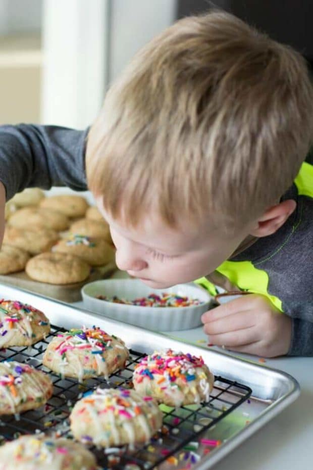 Baking Christmas Cookies with Kids