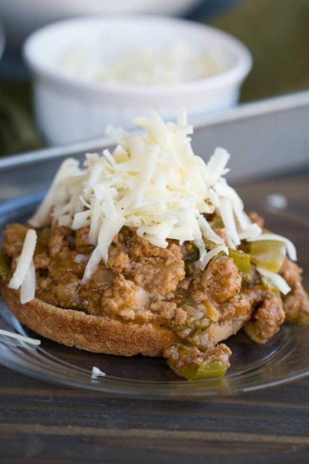 Cheese Steak Sloppy Joe