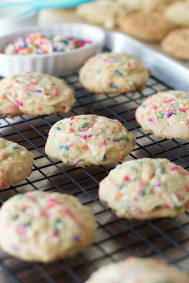 Christmas Cookies with Sprinkles