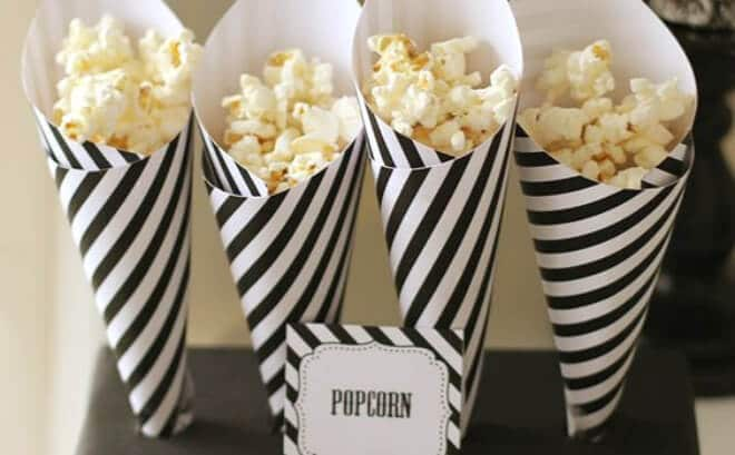 23 Black And White Party Ideas