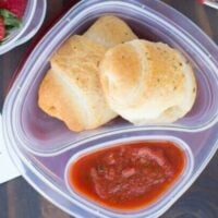 Kid's Lunch Ideas: Make Ahead Pizza Rolls