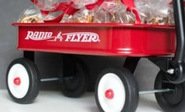 Radio Flyer Movie Night Idea