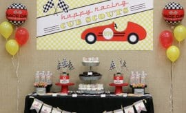 Vintage Racecar Derby Party