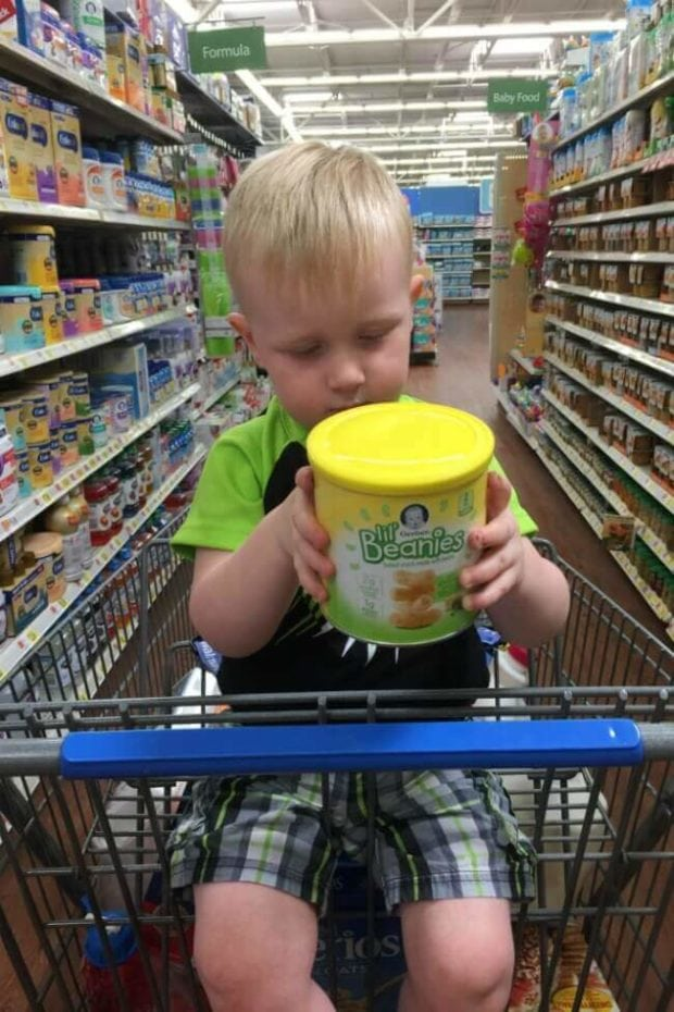 Getting Gerber Snacks