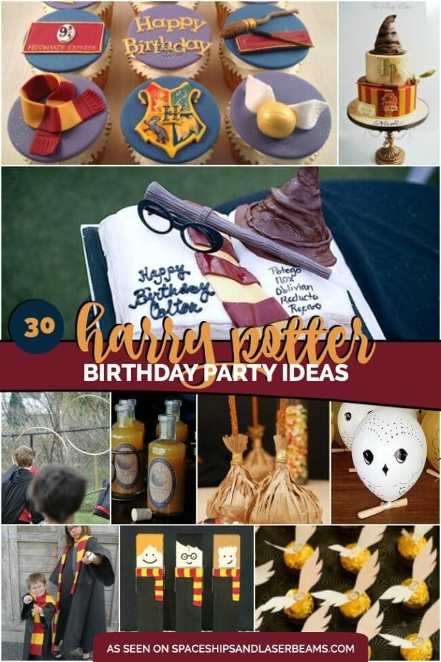 30 Magical Harry Potter Birthday Party Ideas showcased by Spaceships and Laser Beams