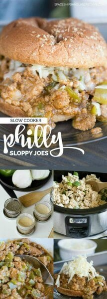 Slow Cooker Philly Sloppy Joes