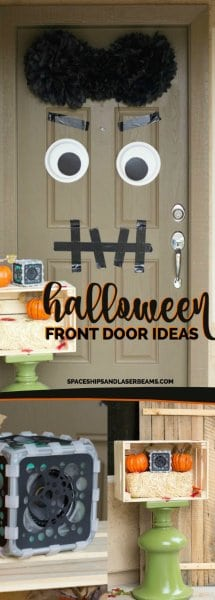 Fun Halloween Front Door Ideas